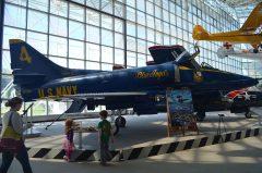 Douglas A-4F Skyhawk II 154180/4 US Navy, The Museum of Flight Seattle-Boeing Field, WA USA | Les Spearman