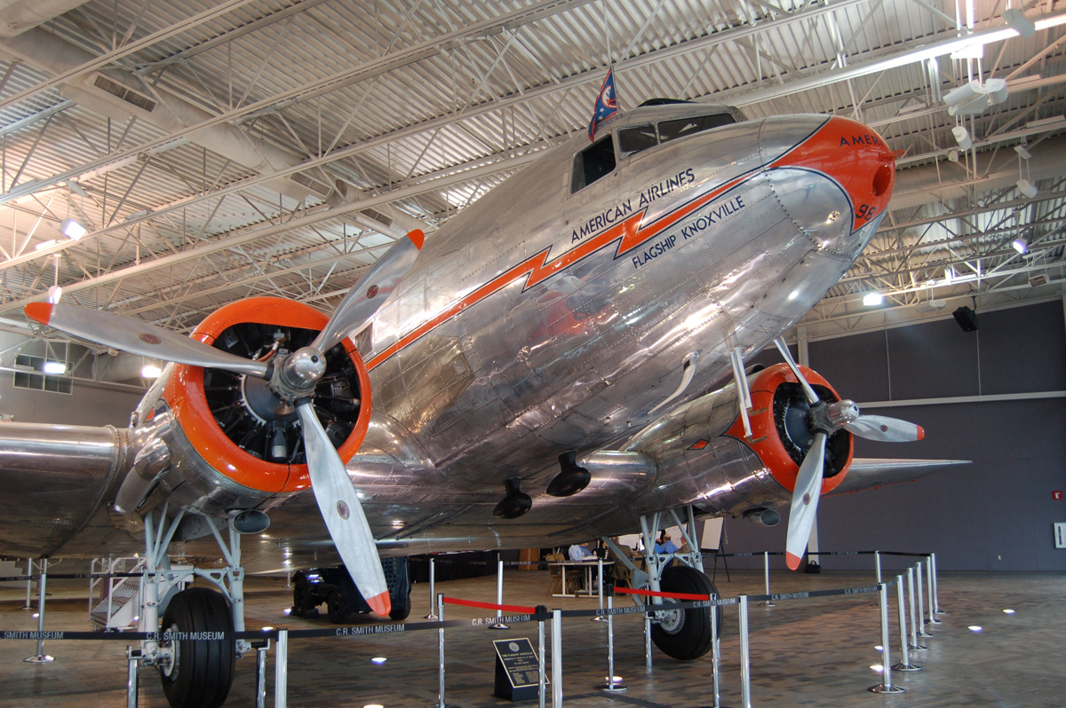 Douglas Dc 3 227b Skytrain Aviationmuseum