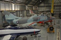 Douglas TA-4G Skyhawk N13-154911 880 Royal Australian Navy, Fleet Air Arm Museum, Nowra Hill NSW