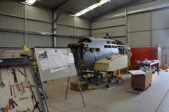 Fairey Battle I N2188 restoration, South Australian Aviation Museum