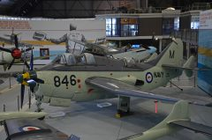Fairey Gannet AS.1 XA434 M-846 Royal Australian Navy, Fleet Air Arm Museum, Nowra Hill NSW