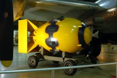 """Fat Man"" atomic bomb, National Museum of the US Air Force Dayton, OH"