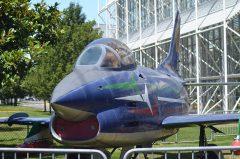 "Fiat G.91 PAN MM6244/10 ""Frecce Tricolori"" Italian Air Force, The Museum of Flight Seattle-Boeing Field, WA USA | Les Spearman"
