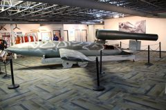 Fieseler Fi 103 V-1 German flying bomb, Military Aviation Museum, Virginia Beach, VA