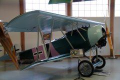 Fokker D.VI (replica) N29WR Luftwaffe, Military Aviation Museum, Virginia Beach, VA