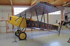 Fokker D.VII (replica) N1918P 6880/18/7 Luftwaffe, Military Aviation Museum, Virginia Beach, VA