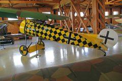 Fokker D.VIII (replica) N8105D Luftwaffe, Military Aviation Museum, Virginia Beach, VA