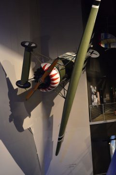 Fokker D.VIII (replica) NX7557U Luftwaffe, The Museum of Flight Seattle-Boeing Field, WA USA | Les Spearman