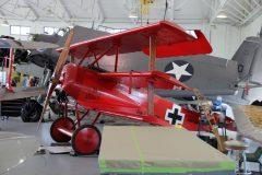 Fokker Dr.1 (replica) N917RB Luftwaffe, Military Aviation Museum, Virginia Beach, VA