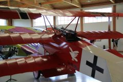 Fokker Dr.1 (replica) NX900TP 581/17 Luftwaffe, Military Aviation Museum, Virginia Beach, VA