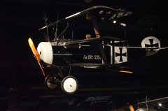 Fokker Dr.I (replica) NX2203 535/17 Luftwaffe, The Museum of Flight Seattle-Boeing Field, WA USA