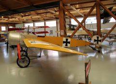 Fokker E.III (replica) N915E 419/15 Luftwaffe, Military Aviation Museum, Virginia Beach, VA