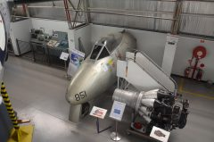 Gloster Meteor F.8 (nose) A77-851, South Australian Aviation Museum