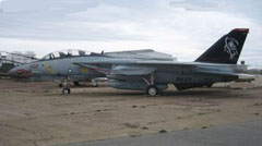 Grumman F-14A Tomcat 162591/AD-260, Quonset Air Museum