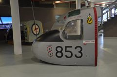 Grumman S-2E Tracker (front fuselage) 151646 853 Royal Australian Navy, Fleet Air Arm Museum,Nowra Hill NSW