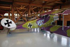 Halberstadt C.V. (replica) N6175J Luftwaffe, Military Aviation Museum, Virginia Beach, VA