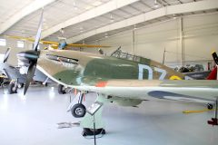 Hawker Hurricane IIB N943HH/V6793/DZ-O RAF, Military Aviation Museum, Virginia Beach, VA