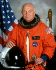 John Herschel Glenn Jr. (Photo NASA) NASA Glenn Visitor Center