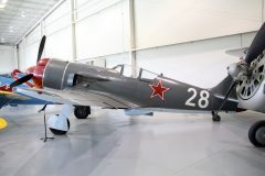 Lavochkin La-9 N415ML/28 Soviet Air Force, Military Aviation Museum, Virginia Beach, VA