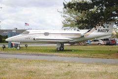 Learjet 23 N407V Jet Air, Museum of Flight Restoration Center & Reserve Collection