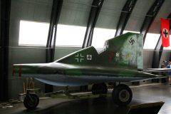 Lippisch P13a 7 Luftwaffe, Military Aviation Museum, Virginia Beach, VA
