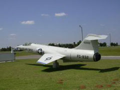 Lockheed F-104C Starfighter 56-0932/FG-932, Stafford Air and Space Museum