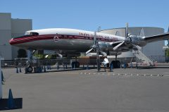 Lockheed L-1049G Super Constellation CF-TGE Trans-Canada Air Lines, The Museum of Flight Seattle-Boeing Field, WA USA | Les Spearman