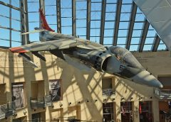 McDonnell Douglas AV-8B Harrier II 161396 SD-623 USMC, National Museum of the Marine Corps