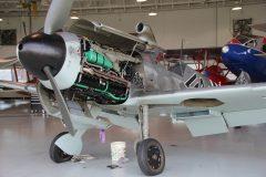 Messerschmitt Bf 109G-4 (replica)  N109GY/19257/<1+ Luftwaffe, Military Aviation Museum, Virginia Beach, VA Johan van der Hoek