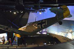 Messerschmitt (Hispano) BF 109E-3 NX109J/0392 Luftwaffe, The Museum of Flight Seattle-Boeing Field, WA USA