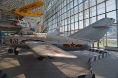 Mikoyan-Gurevich MiG-15 079 Soviet Air Force, The Museum of Flight Seattle-Boeing Field, WA USA