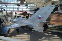 Mikoyan-Gurevich MiG-21PFM 5411 Czechoslowakian Air Force, The Museum of Flight Seattle-Boeing Field, WA USA