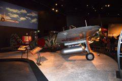 Nakajima Ki-43-IIIa Hayabusa Oscar (replica), The Museum of Flight Seattle-Boeing Field, WA USA