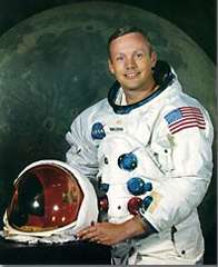 Neil Alden Armstrong (Photo NASA) Armstrong Air & Space Museum