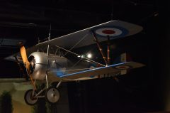 Nieuport 27 N5597M French Air Force, The Museum of Flight Seattle-Boeing Field, WA USA