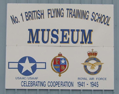No.1 British Flying Training School Museum Terrell, Texas