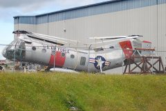 Piasecki CH-21B Workhorse 53-4329 USAF, Museum of Flight Restoration Center