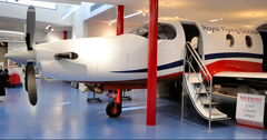 Pilatus PC12 (replica fuselage), Royal Flying Doctor Service Alice Springs Tourist Facility
