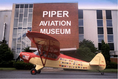 Piper Super Cruisers PA-12 NX3671M, Piper Aviation Museum