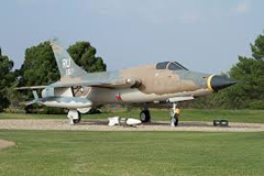 Republic F-105D Thunderchief 59-1738/RU, Dyess Museum and Linear Air Park
