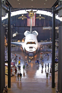 Rockwell Space Shuttle Enterprise National Air and Space Museum Steven F. Udvar-Hazy Center