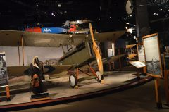 Royal Aircraft Factory S.E.5a (replica) NX910A/C Royal Flying Corps, The Museum of Flight Seattle-Boeing Field, WA USA