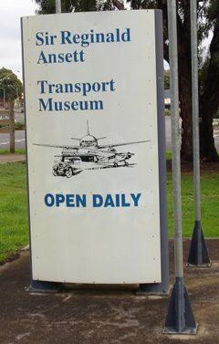 Sir Reginald Ansett Transport Museum Hamilton, VIC Australia