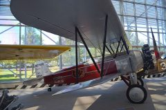 Stearman C-3B  NC7550/204 Western Air Express, The Museum of Flight Seattle-Boeing Field, WA USA