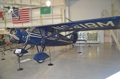 Stinson SM-8A Detroiter NC418M, Port Townsend Aero Museum