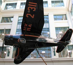 Stinson SR-10F Reliant NX2311, Smithsonian National Postal Museum