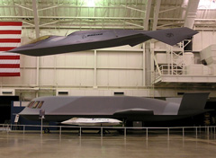 Boeing Bird of Prey, Northrop Tactic Blue, Boeing X-36 UAV, National Museum of the United States Air Force