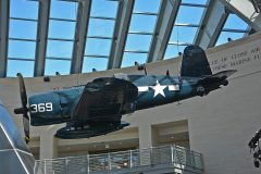 Vought F4U-4 Corsair 97369 369 USMC, National Museum of the Marine Corps