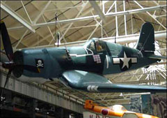 Vought FG-1D Corsair 92013/1, National Museum of the United States Navy