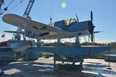Vought OS2U-2 Kingfisher 3073/55 US Navy, U.S.S. North Carolina Battleship Memorial Wilmington, North Carolina